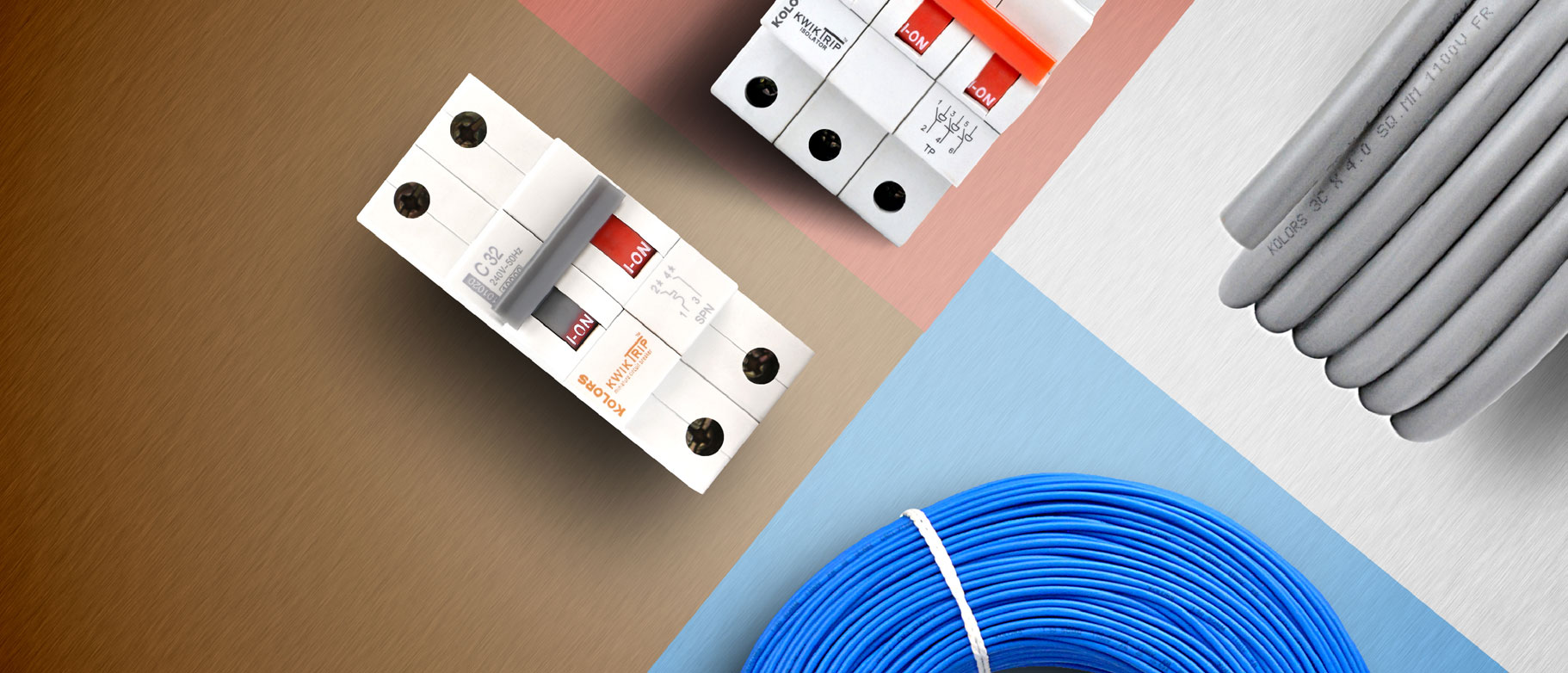 Kolorsworld Electrical Wiring Accessories Products The Colours Of Life